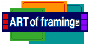 Art of Framing Logo PNG